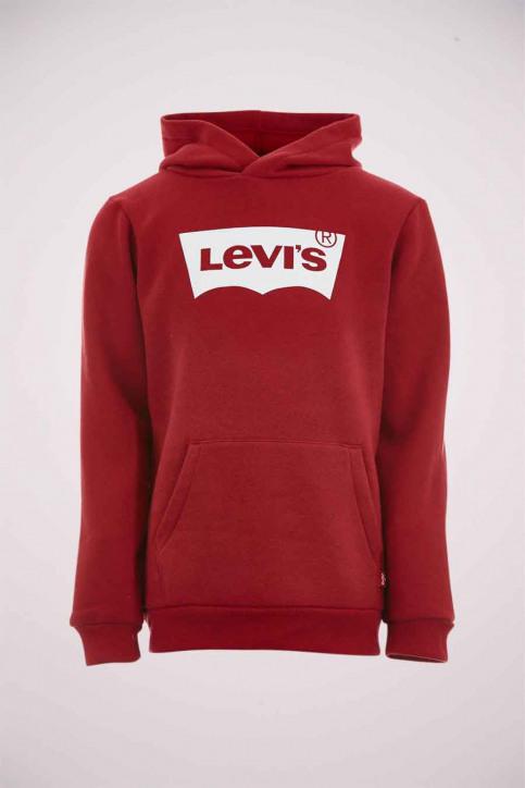 Levi's® Sweaters avec capuchon rouge 9E8778_R1R LEVIS RED W img1