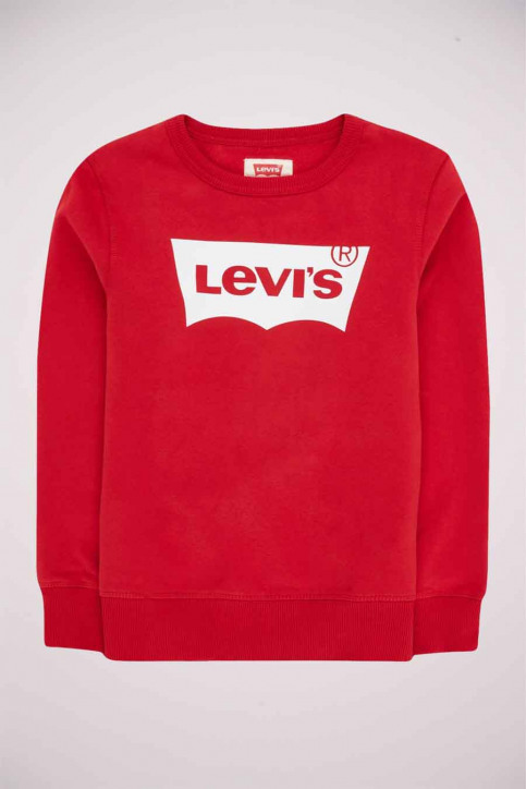 Levi's® Sweaters met O-hals rood 9E9079_R1R LEVIS RED W img1