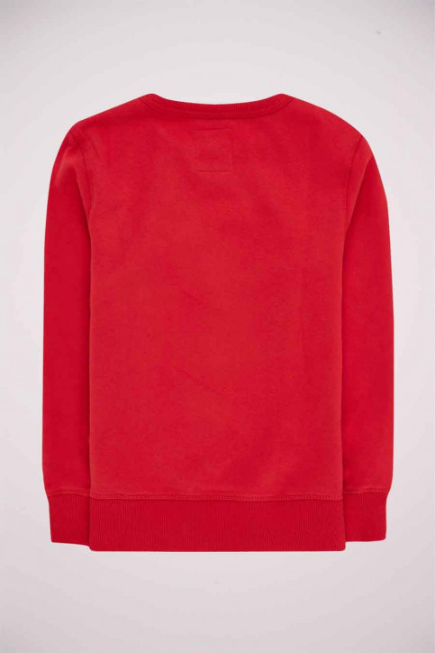 Levi's® Sweaters met O-hals rood 9E9079_R1R LEVIS RED W img2