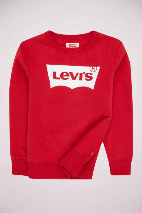Levi's® Sweaters met O-hals rood 9E9079_R1R LEVIS RED W img3