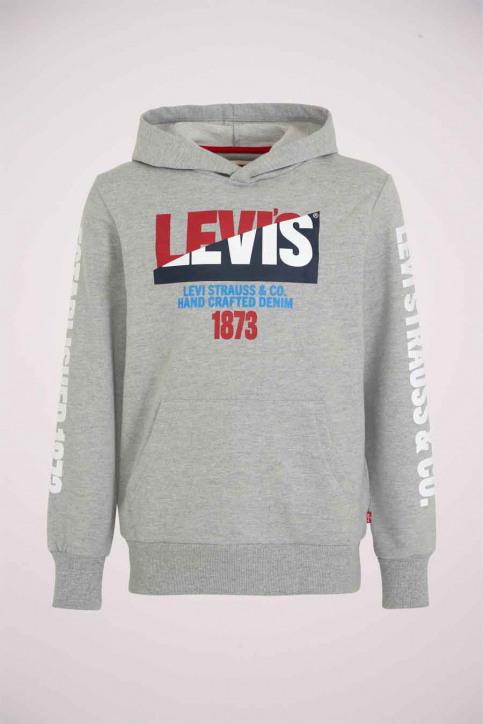 Levi's® Sweaters avec capuchon gris 9EB055_078 GREY HEATHE img1