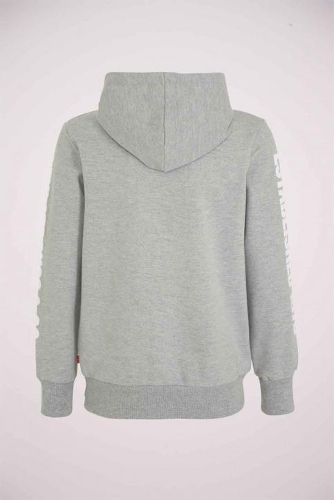 Levi's® Sweaters avec capuchon gris 9EB055_078 GREY HEATHE img2