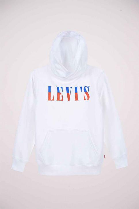 Levi's® Sweaters avec capuchon blanc 9EB904_001 WHITE img1