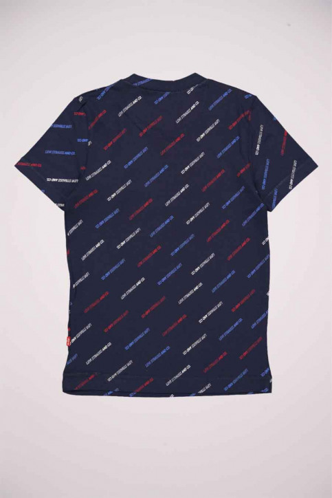 Levi's® T-shirts manches courtes bleu 9EC019_C8D DRESS BLUES img2
