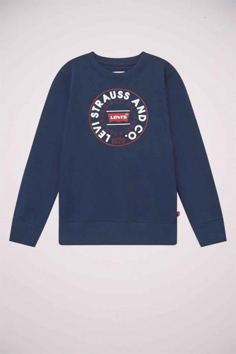 Levi's® Sweaters met O-hals blauw 9EC035_C8D DRESS BLUES img1