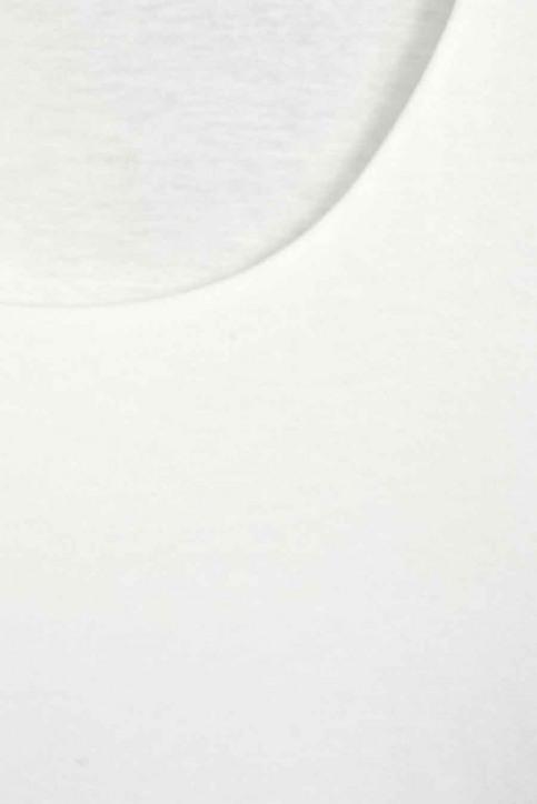 STREET ONE Tops uni manche longue blanc A314151_10108 OFF WHITE img2
