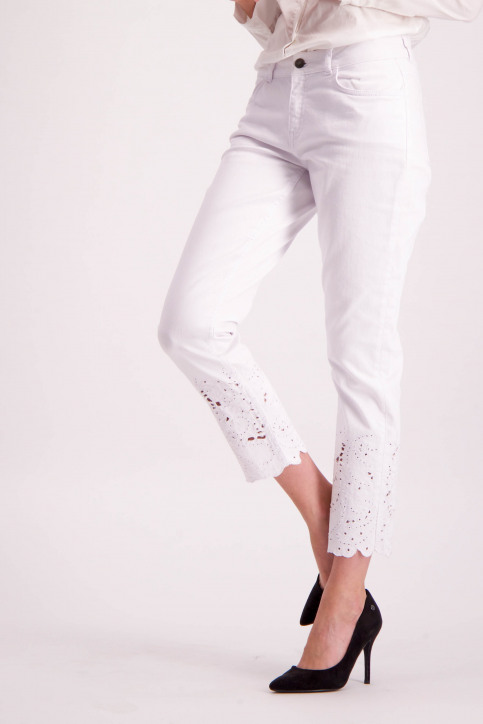 Astrid Black Label Jeans skinny wit ABL NOOS ALICIA_WHITE img1