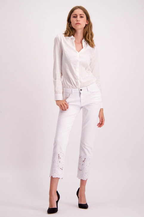Astrid Black Label Jeans skinny wit ABL NOOS ALICIA_WHITE img2