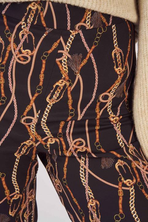 Astrid Black Label Pantalons ABL191WT 001_CHAIN PRINT img4