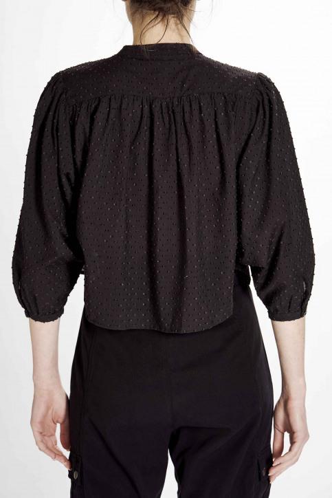 Astrid Black Label Blouses (lange mouwen) zwart ABL201WT 021_BLACK img7
