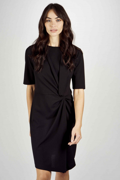 Astrid Black Label Robes courtes noir ABL201WT 040_BLACK img1