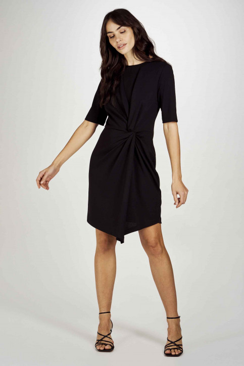 Astrid Black Label Robes courtes noir ABL201WT 040_BLACK img2