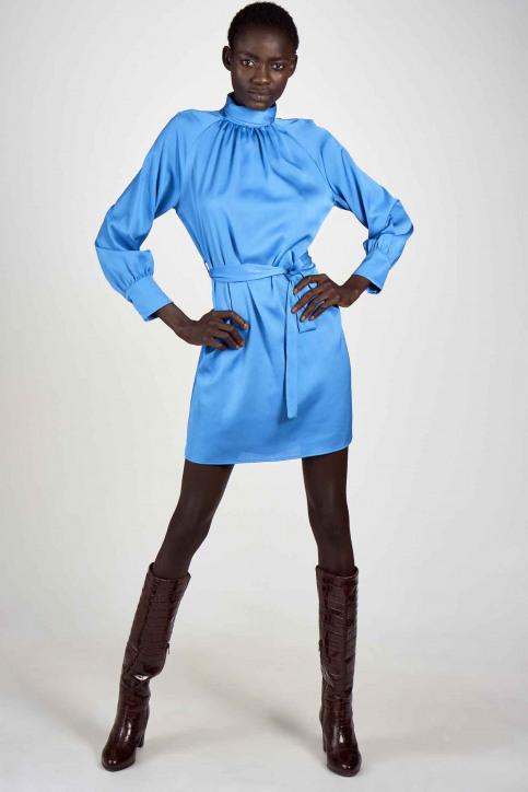 Astrid Black Label Jurken (kort) blauw ABL202WT 001_METHYL BLUE img2