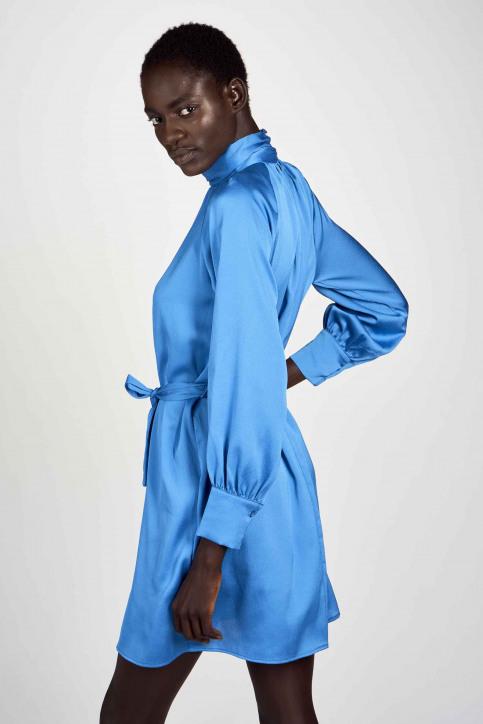 Astrid Black Label Jurken (kort) blauw ABL202WT 001_METHYL BLUE img3