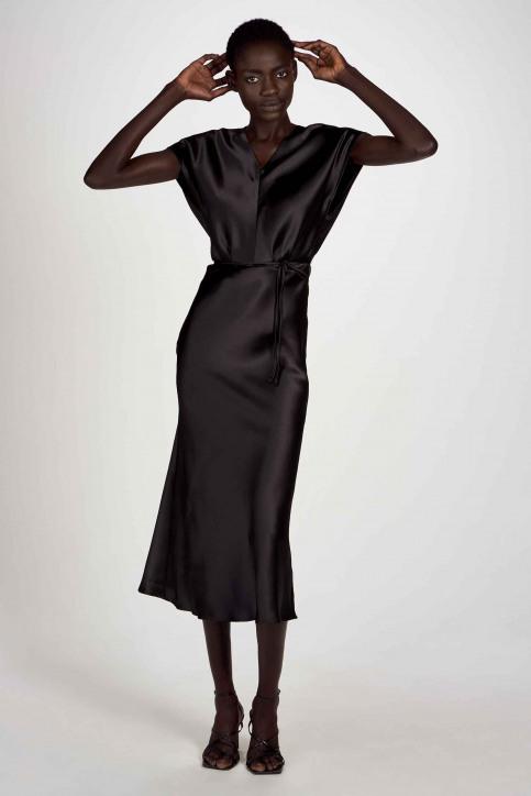Astrid Black Label Robes 3/4 noir ABL202WT 002_BLACK img1