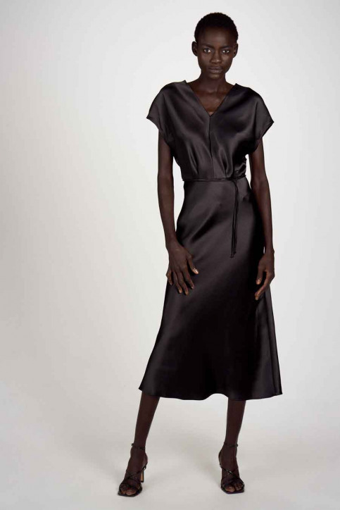 Astrid Black Label Robes 3/4 noir ABL202WT 002_BLACK img2