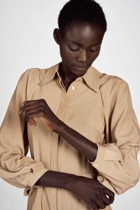 Astrid Black Label Robes 3/4 beige ABL202WT 005_LATTE img2