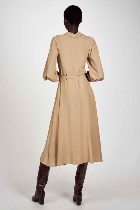 Astrid Black Label Robes 3/4 beige ABL202WT 005_LATTE img3