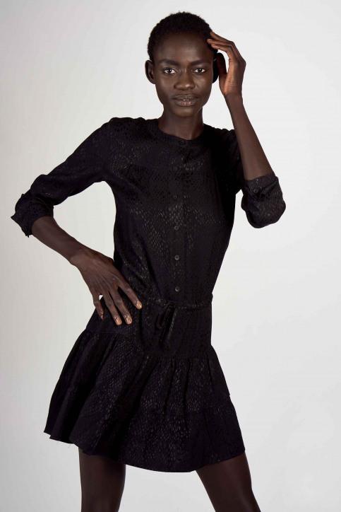 Astrid Black Label Robes courtes noir ABL202WT 012_BLACK img2