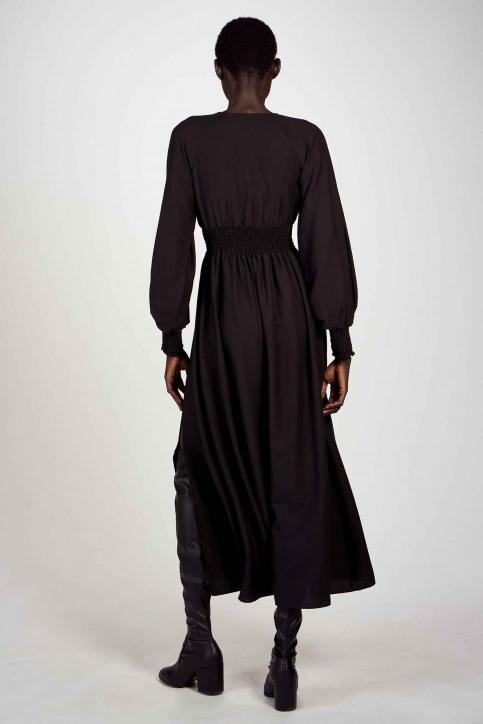 Astrid Black Label Jurken (lang) zwart ABL202WT 014_BLACK img2