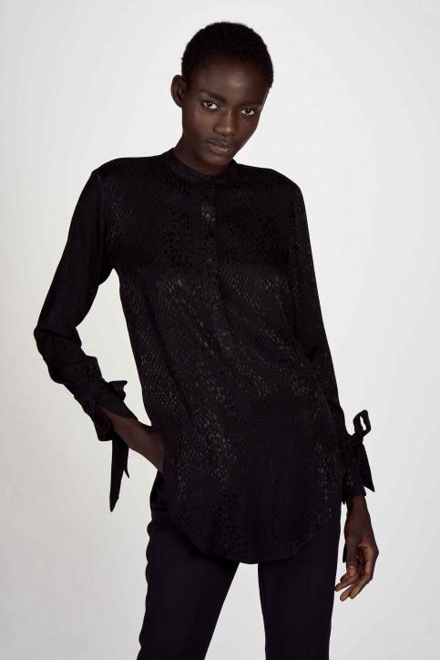 Astrid Black Label Chemisiers (manches longues) noir ABL202WT 020_BLACK img1