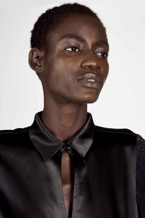 Astrid Black Label Blouses (korte mouwen) zwart ABL202WT 021_BLACK img4