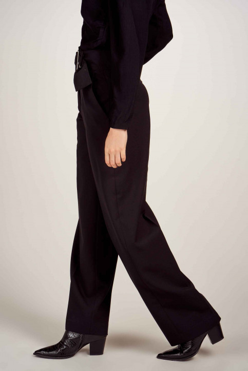 Astrid Black Label Pantalons de costume noir ABL202WT 024_BLACK img4