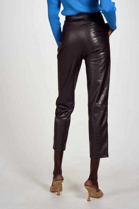 Astrid Black Label Pantalons brun ABL202WT 026_GANACHE img2