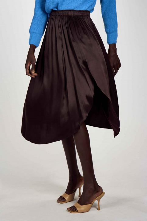 Astrid Black Label Jupes 3/4 brun ABL202WT 027_GANACHE img2