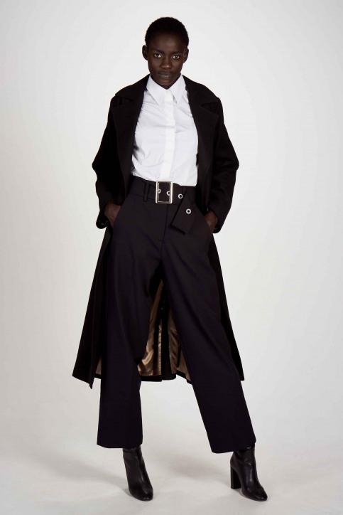 Astrid Black Label Vestes longues brun ABL202WT 037_GANACHE img2