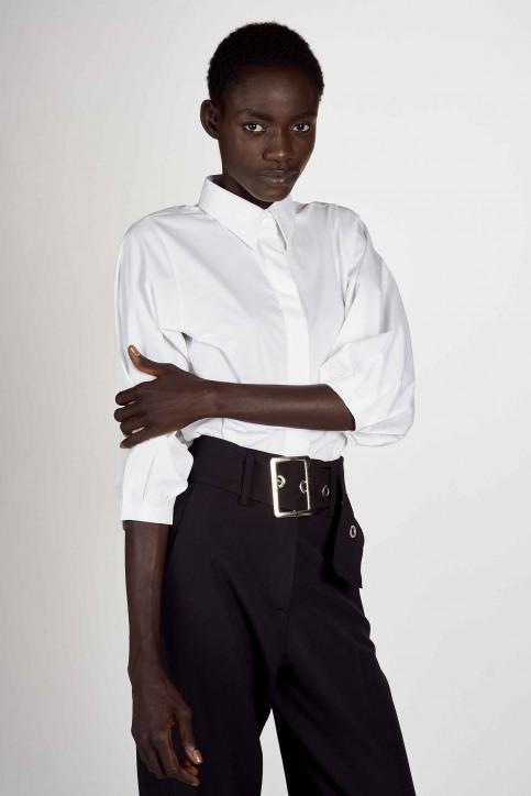 Hemden (lange mouwen) wit ABL204WT 015_WHITE img1