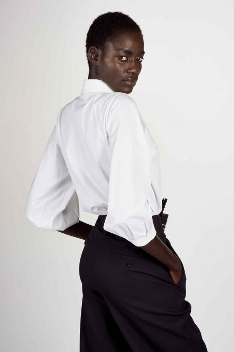 Hemden (lange mouwen) wit ABL204WT 015_WHITE img3