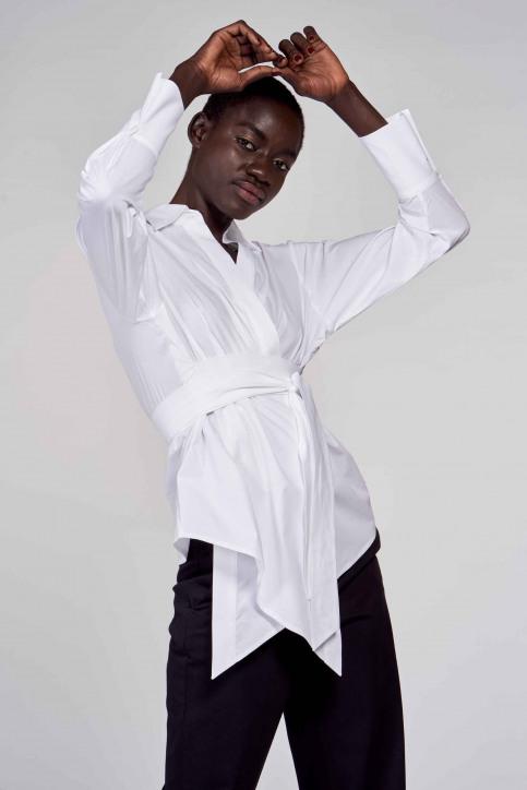 Hemden (lange mouwen) wit ABL211WT 031_WHITE img1
