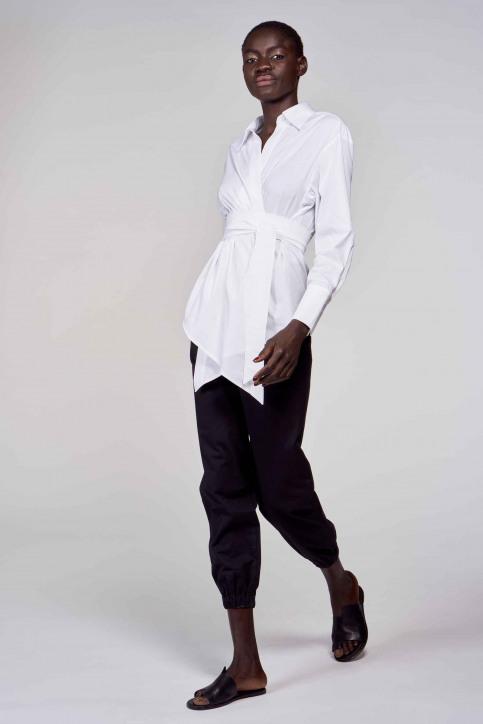 Hemden (lange mouwen) wit ABL211WT 031_WHITE img2