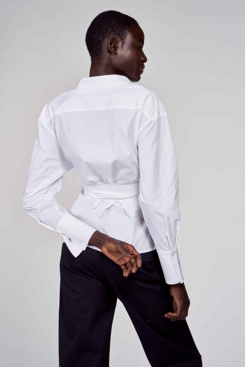 Hemden (lange mouwen) wit ABL211WT 031_WHITE img3