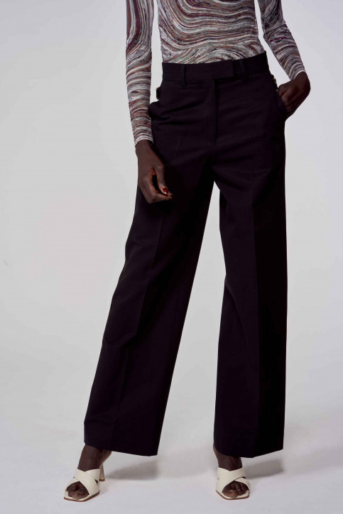 Kostuumbroeken zwart ABL213WT 002_BLACK img1