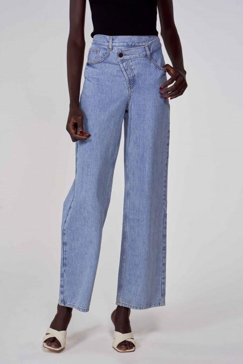 Jeans wide denim ABL213WT 005_DENIM BLUE img1
