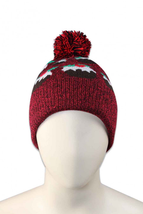 ZEB STYLE LAB Bonnets rouge ACC MUTS CAKE_RED img2