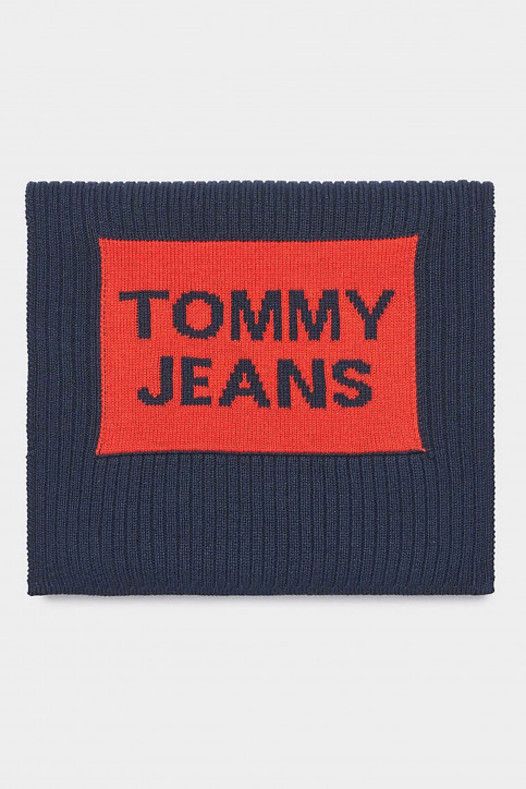 Tommy Hilfiger Wintersjaals blauw AM0AM05212_901 CORPORATE img1