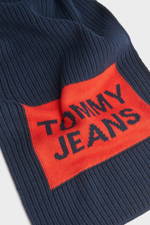 Tommy Hilfiger Wintersjaals blauw AM0AM05212_901 CORPORATE img2