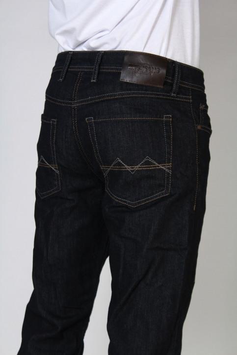 MAC Jeans straight blauw ARNE_H750DARK BLUE img4