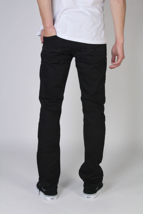 MAC Jeans straight noir ARNE_H900STAY BLACK img3