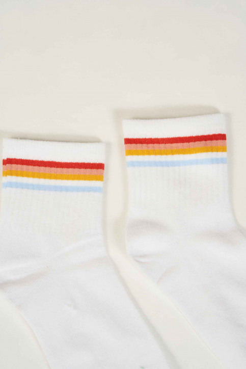 TALLY WEIJL Chaussettes blanc ASOMULTIC_WHITE img2