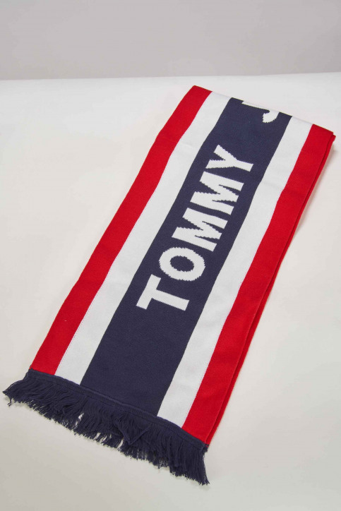 Tommy Jeans Wintersjaals blauw AU0AU00373901_901 CORPORATE img2