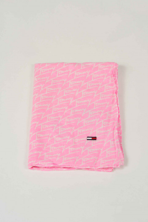 Tommy Hilfiger Foulards rose AW0AW06337_901 LILAC CHIFF img1