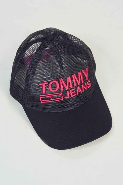 Tommy Jeans Petten zwart AW0AW06668_902 BL IRIS FUS img1