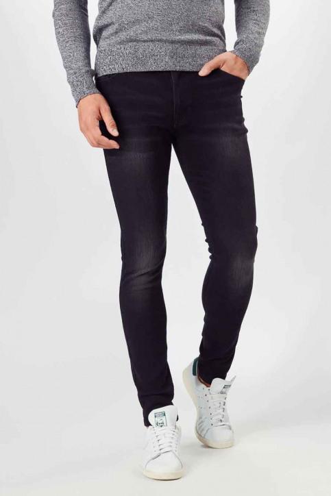 DENIM PROJECT Jeans slim zwart AW2015046_046 BLACK WASHE img1