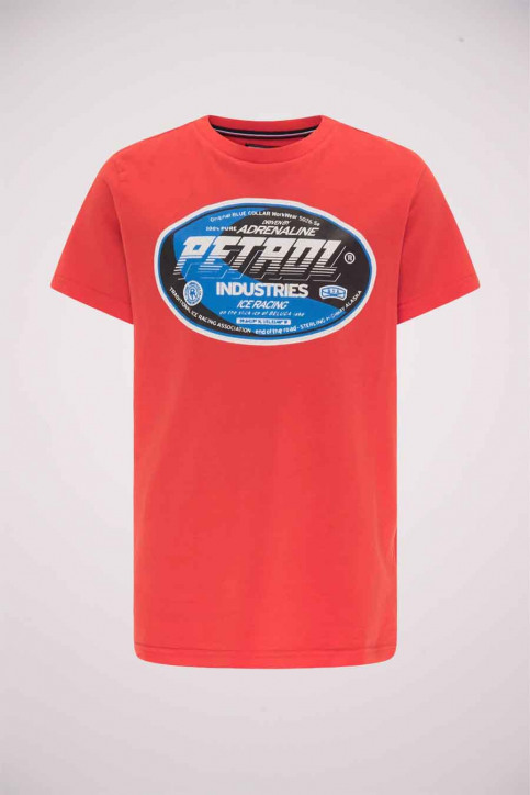 Petrol T-shirts manches courtes rouge B3000TSR600_3096 RED CHILI img1