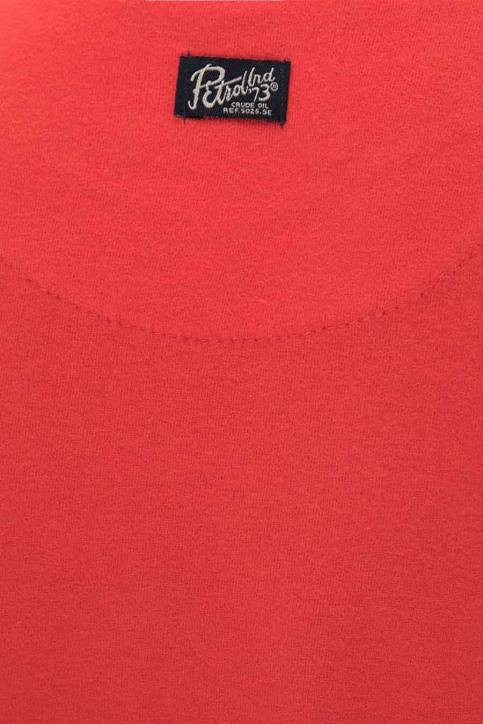 Petrol T-shirts manches courtes rouge B3000TSR600_3096 RED CHILI img3