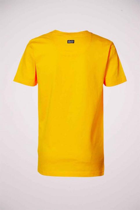 Petrol T-shirts manches courtes jaune B3000TSR602_1034 AMBER img2